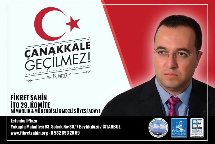 """BİZİ """"ÇANAKKALE RUHU"""" KORUYACAK"""