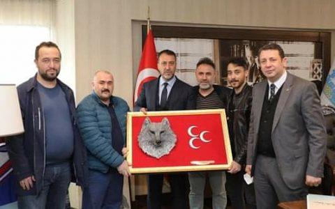 Fikret Şahin, Silivri Belediye Başkanı Volkan Yılmaz'ı Ziyaret Etti